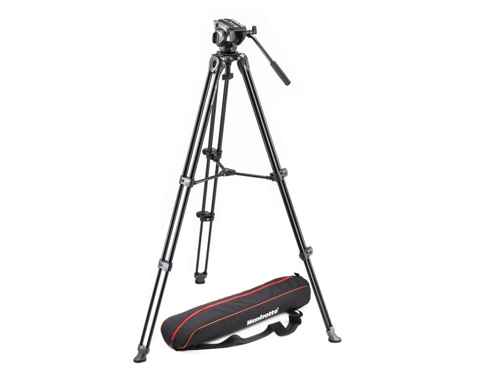 Штатив Manfrotto MVK500AM и голова Manfrotto MVH500A