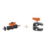 Крепление E-Image EI-A52K mini clamp + mini arm 7см