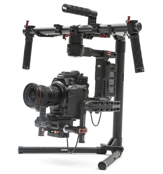 Подвес DJI Ronin 3-Axis Brushless Gimbal Stabilizer