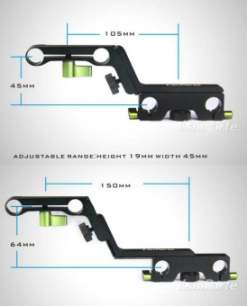 Адаптер Lanparte 15 mm offset Z clamp